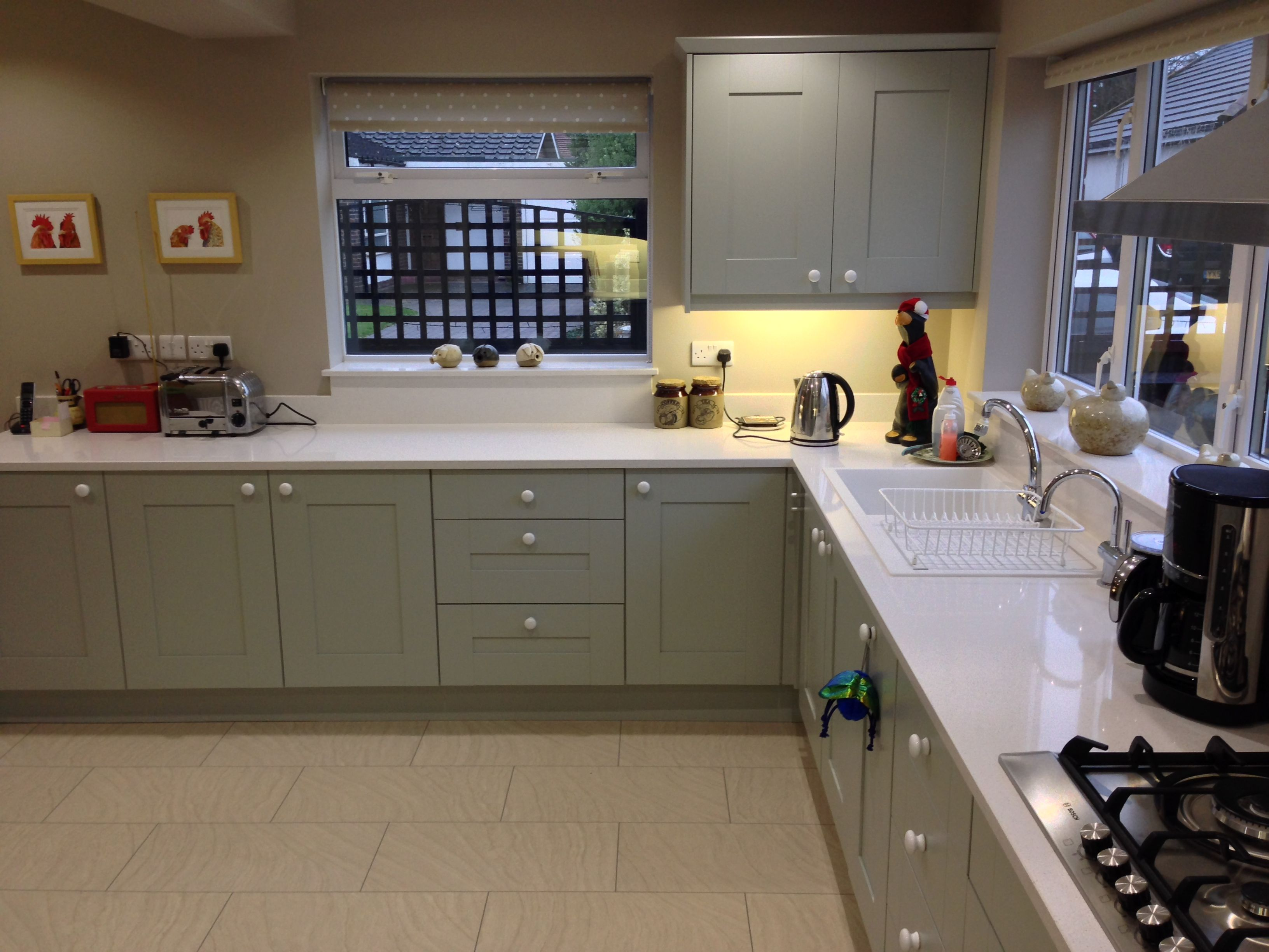 Duck egg blue kitchen units google search surbiton for Duck egg blue kitchen island