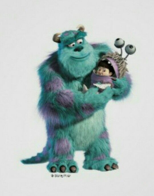 Sully And Boo Sully And Boo Monsters Inc Disney Monsters