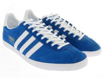 Adidas Originals - Gazelle OG, Blue & White (G16183) | Adidas ...