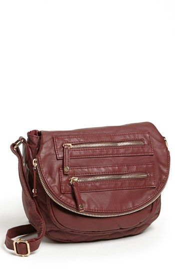 d45846cb7040 Under One Sky Faux Leather Crossbody Bag (Juniors)