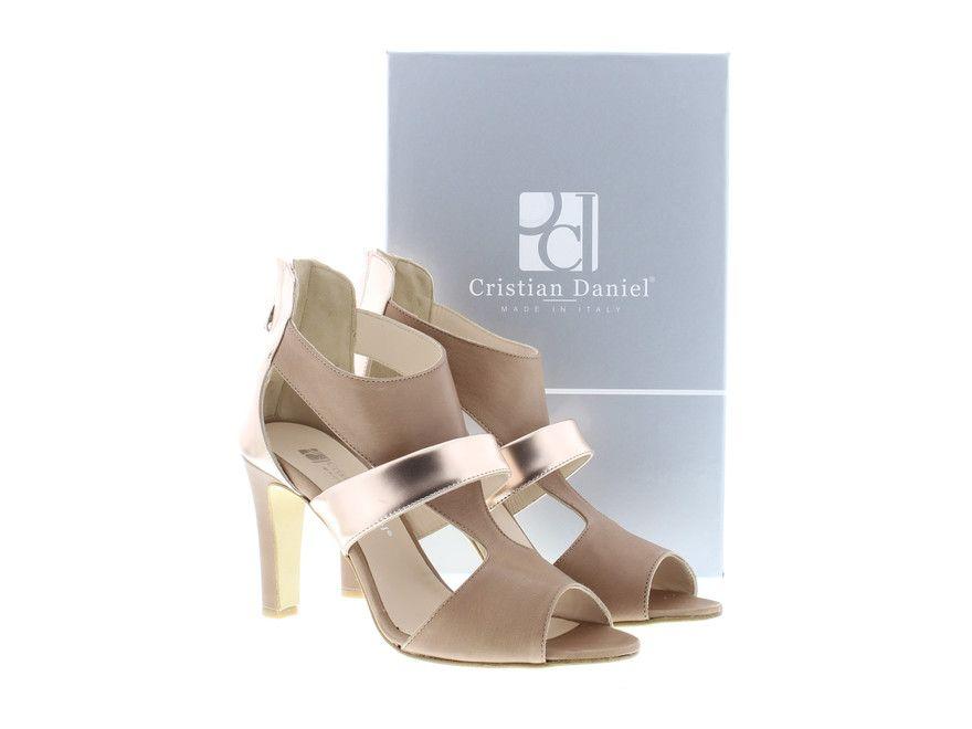 Cristian daniel dames sandaal cognac - Siësta schoenen & mode