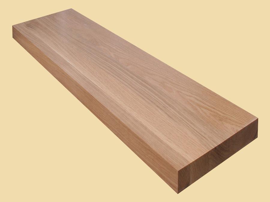 Best Custom Size White Oak Extra Thick Stair Tread White Oak 400 x 300