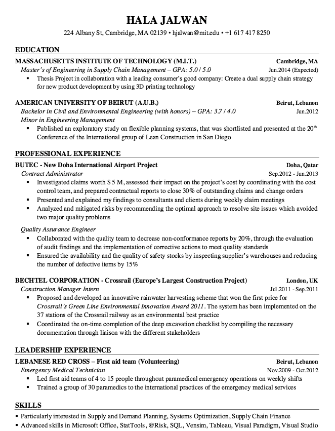 Sample Resume Quality Assurance Engineer  HttpResumesdesign