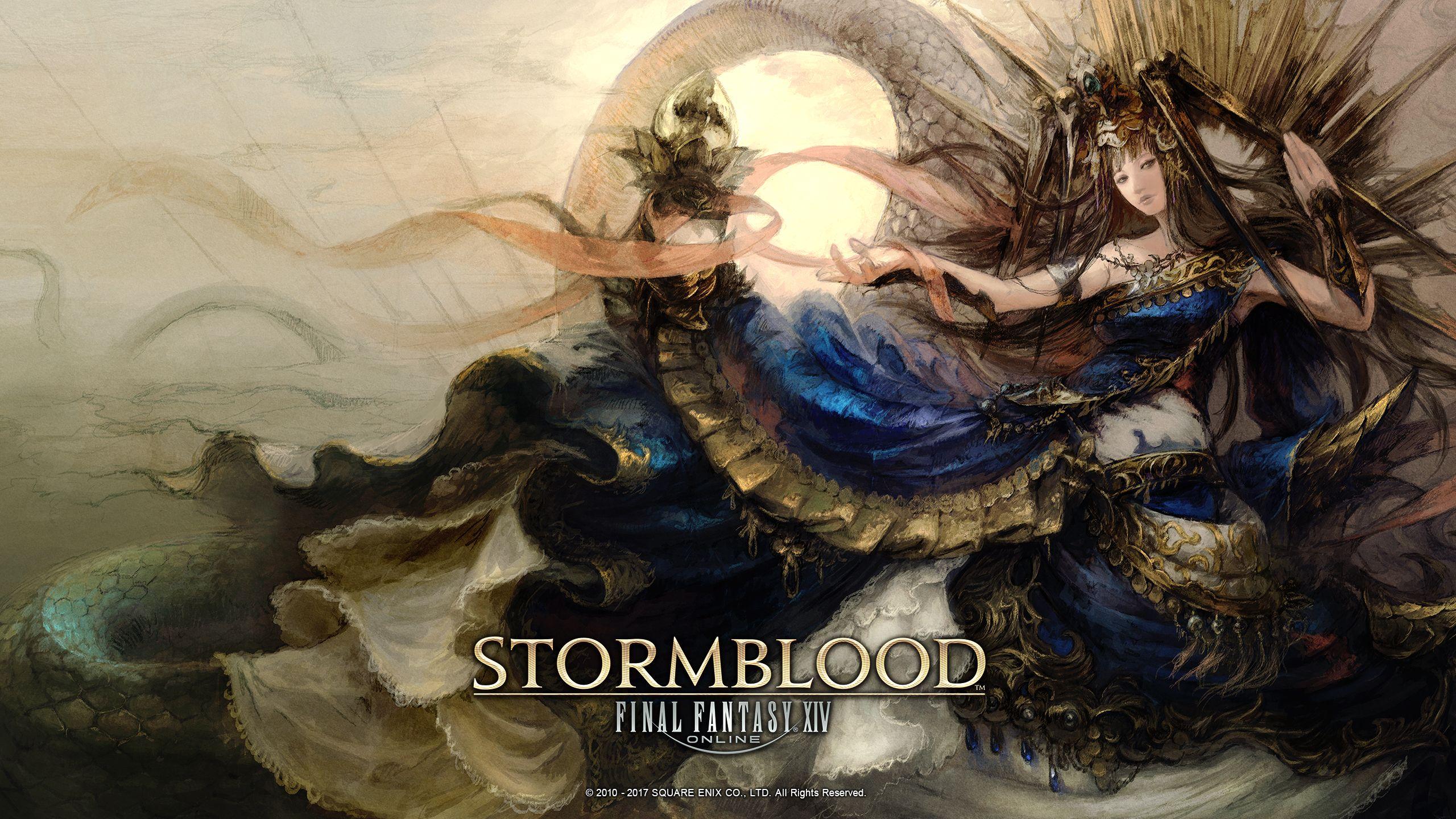Stormblood Final Fantasy Artwork Final Fantasy Xiv Final