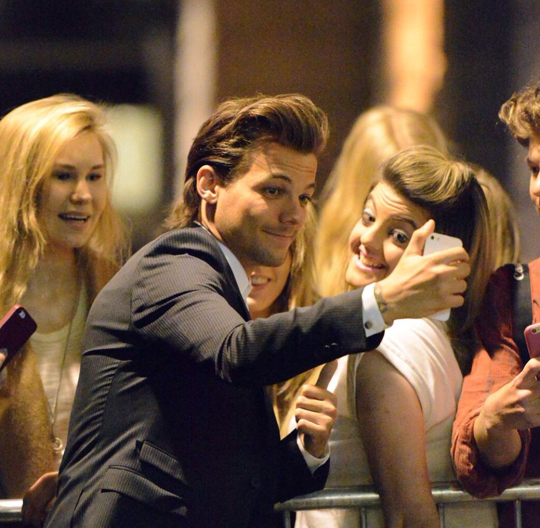 Louis last night  that the great Gatsby ball in support of trekstock  4/16/15