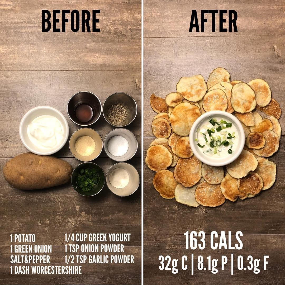 Josh Cortis On Instagram Potato Chips And Sour Cream And Onion Dip If You Re Looking For A Quick And Easy Snack To Healthy Meal Prep Cooking Recipes Healthy