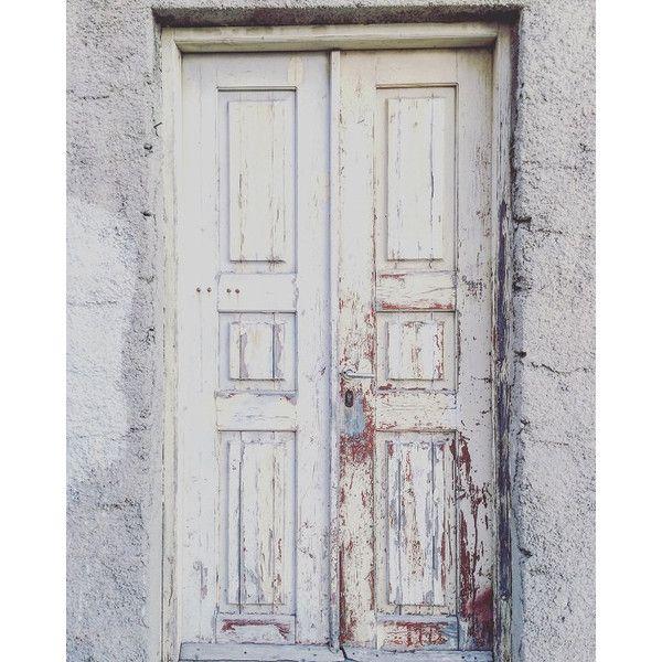 White Rustic Door Photography Wall Art Greek Santorini Decor 12