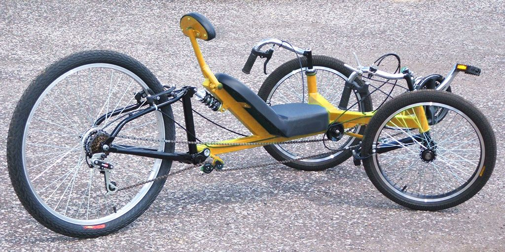 Streetfox Tadpole Trike Diy Plan Atomiczombie Diy Plans Trike Recumbent Bicycle Trike Bicycle