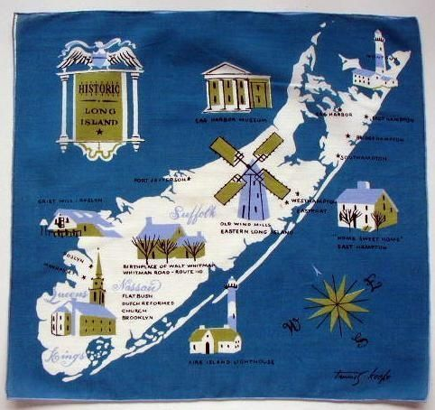 Long Island by Tammis Keefe #map #usa #longisland