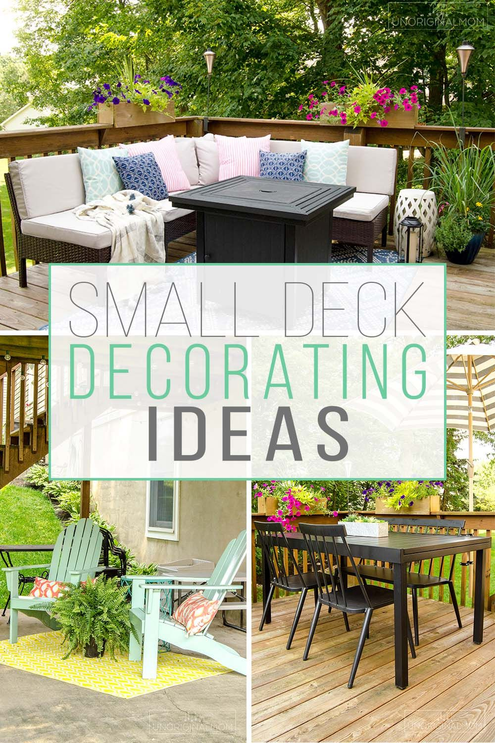 Small Deck Decorating Ideas Our Deck Tour Unoriginal Mom Small Deck Decorating Ideas Deck Decorating Ideas On A Budget Small Backyard Decks