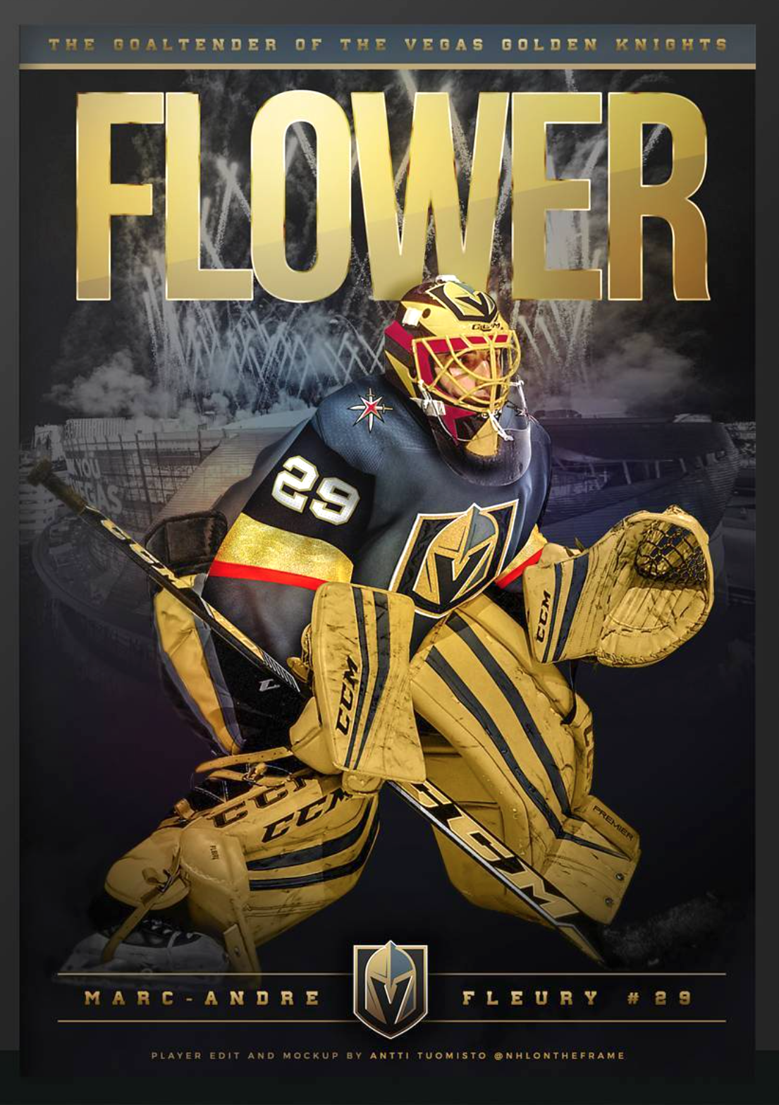 flower las vegas golden knights im really going to miss