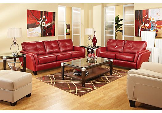 Contemporary Style And Luxurious Comfort Combine In The Fashionable San Sorrento Sofa Covered In Leather Living Room Set Living Room Leather Living Room Sets