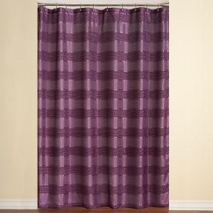 purple and silver shower curtain. Complete The Lovely Moroccan Stripe Purple Shower Curtain With A Sh. And Silver