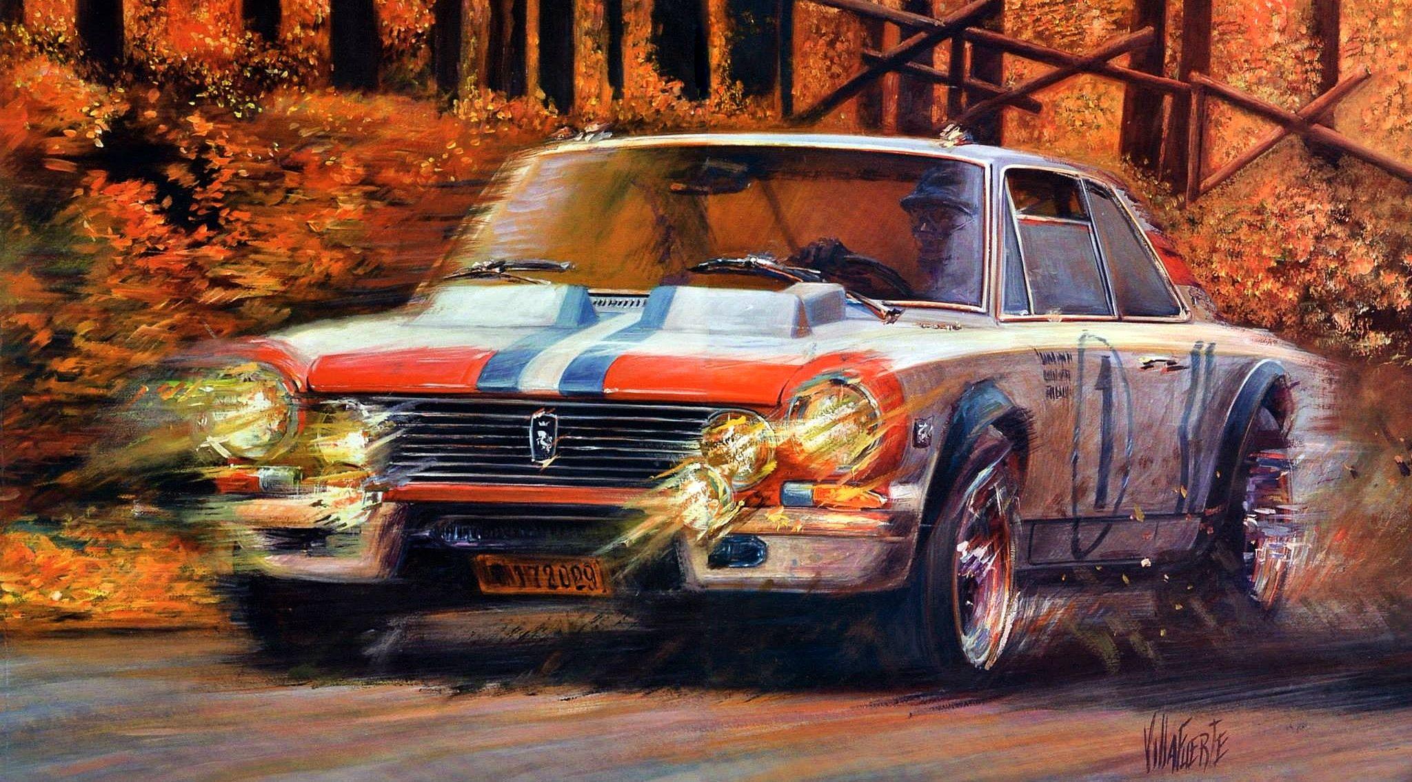 Torino 380w nurburgring 1969 art