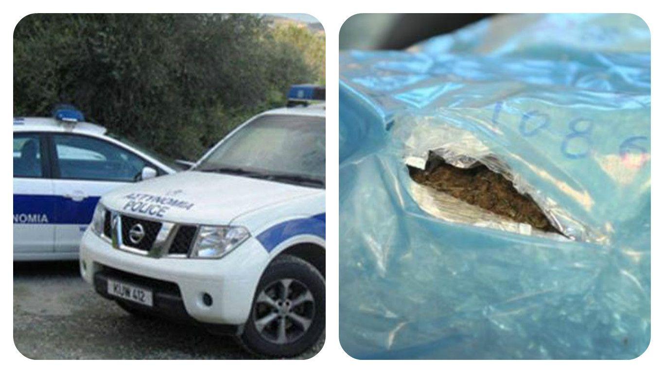 Δεν απάντα στις ερωτήσεις των ανακριτών ο 42χρονος – Στο αυτοκίνητο του βρέθηκαν 2.5 κιλά κάνναβης