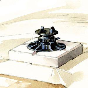 monter une terrasse en bois sur un sol stable a frame. Black Bedroom Furniture Sets. Home Design Ideas