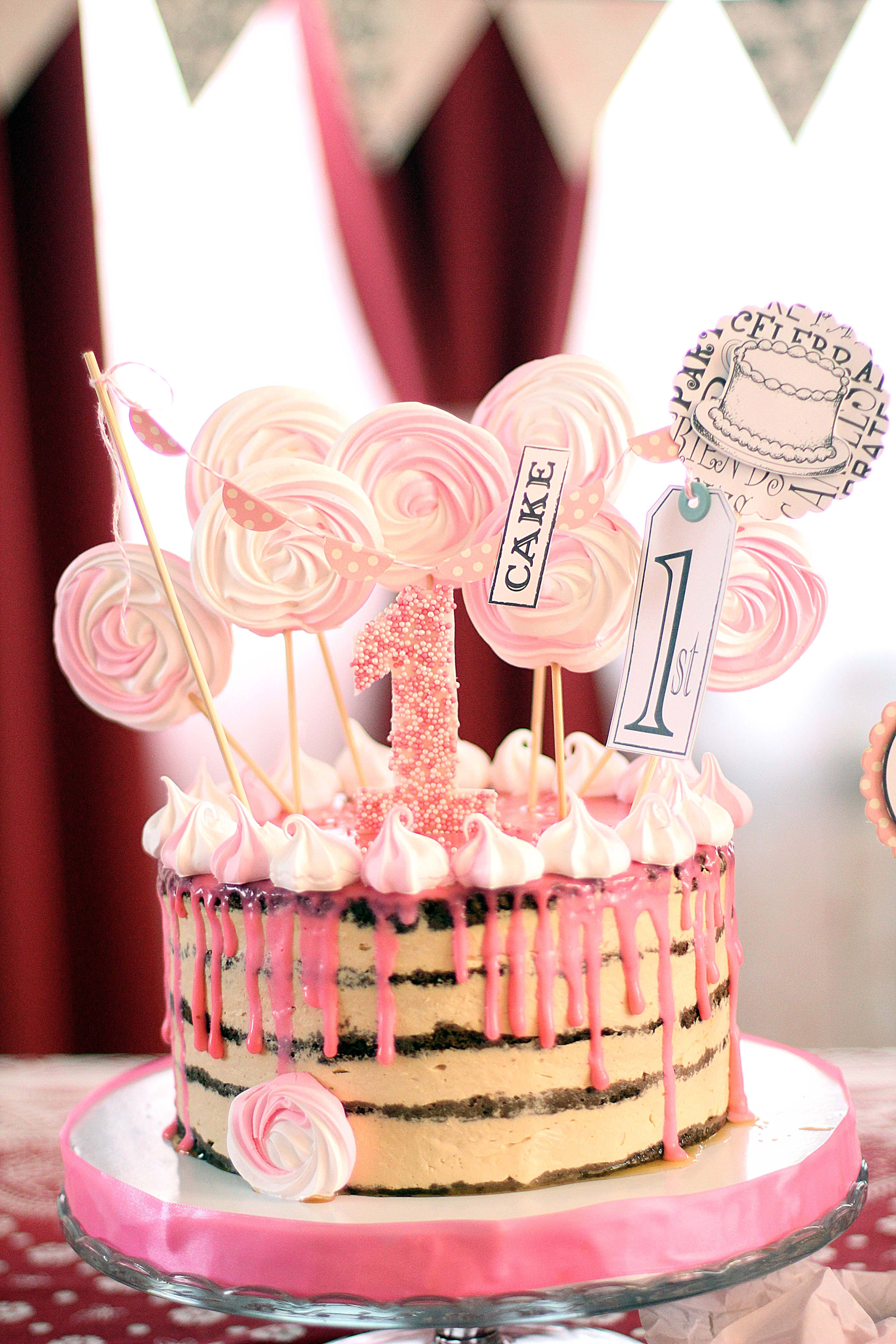 Pleasant 1St Birthday Diy Party Ideas And Crafting For Your Baby Girl Personalised Birthday Cards Arneslily Jamesorg