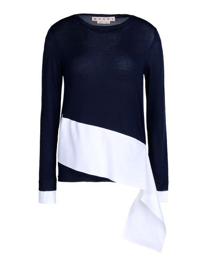 Jerseis De Manga Larga Marni Mujer - thecorner.com - The luxury online boutique devoted to creating distinctive style