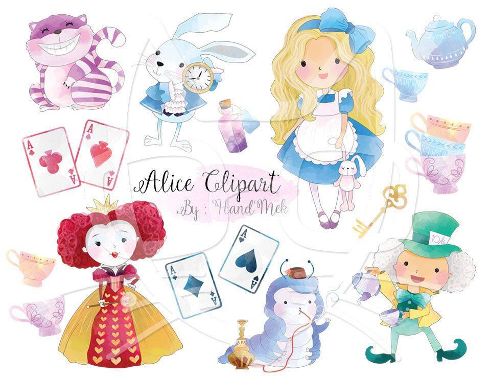 Cute Alice In Wonderland Clipart Instant Download Png File Etsy In 2021 Alice In Wonderland Clipart Alice In Wonderland Alice In Wonderland Drawings