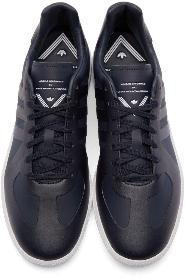 timeless design 974c3 35273 adidas x White Mountaineering - Navy Mountaineering BW Trainers