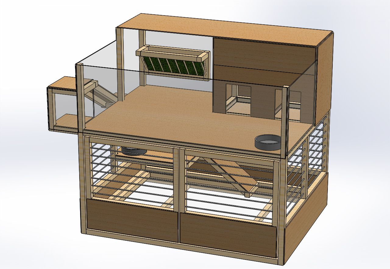 afficher l 39 image d 39 origine cochon d 39 inde cages pour. Black Bedroom Furniture Sets. Home Design Ideas