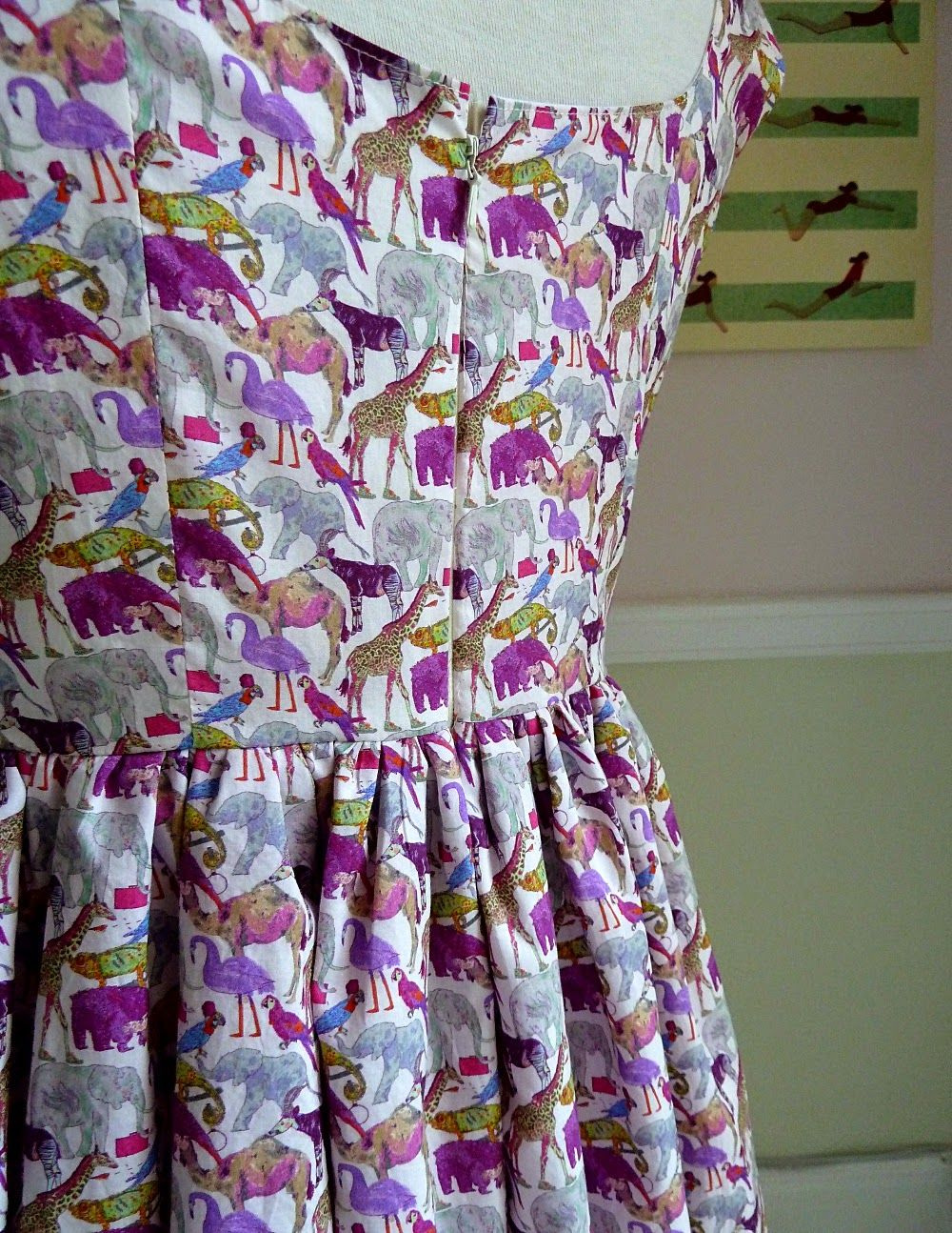 Kim Dress - By Hand London in Liberty Print | Sewing Inspiration ...
