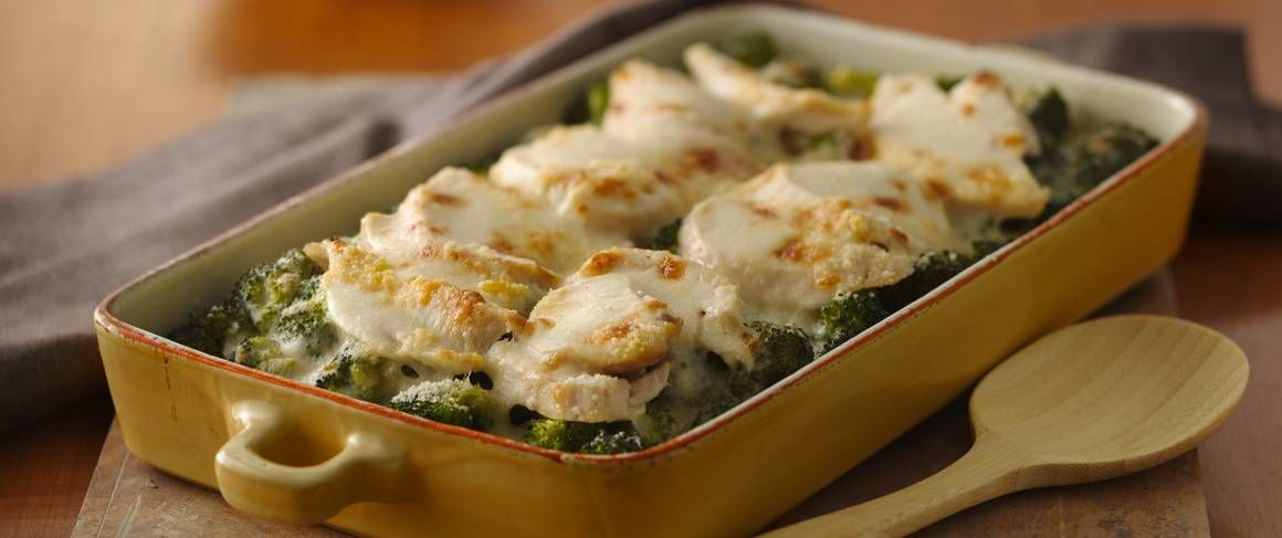 Leftover chicken or turkey? Turn it into a delicious casserole complete with veggies.