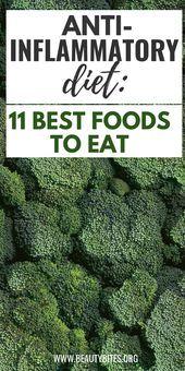 11 melhores alimentos para comer na dieta anti-inflamatória! Reduzir a inflamação e melhorar ...   -...