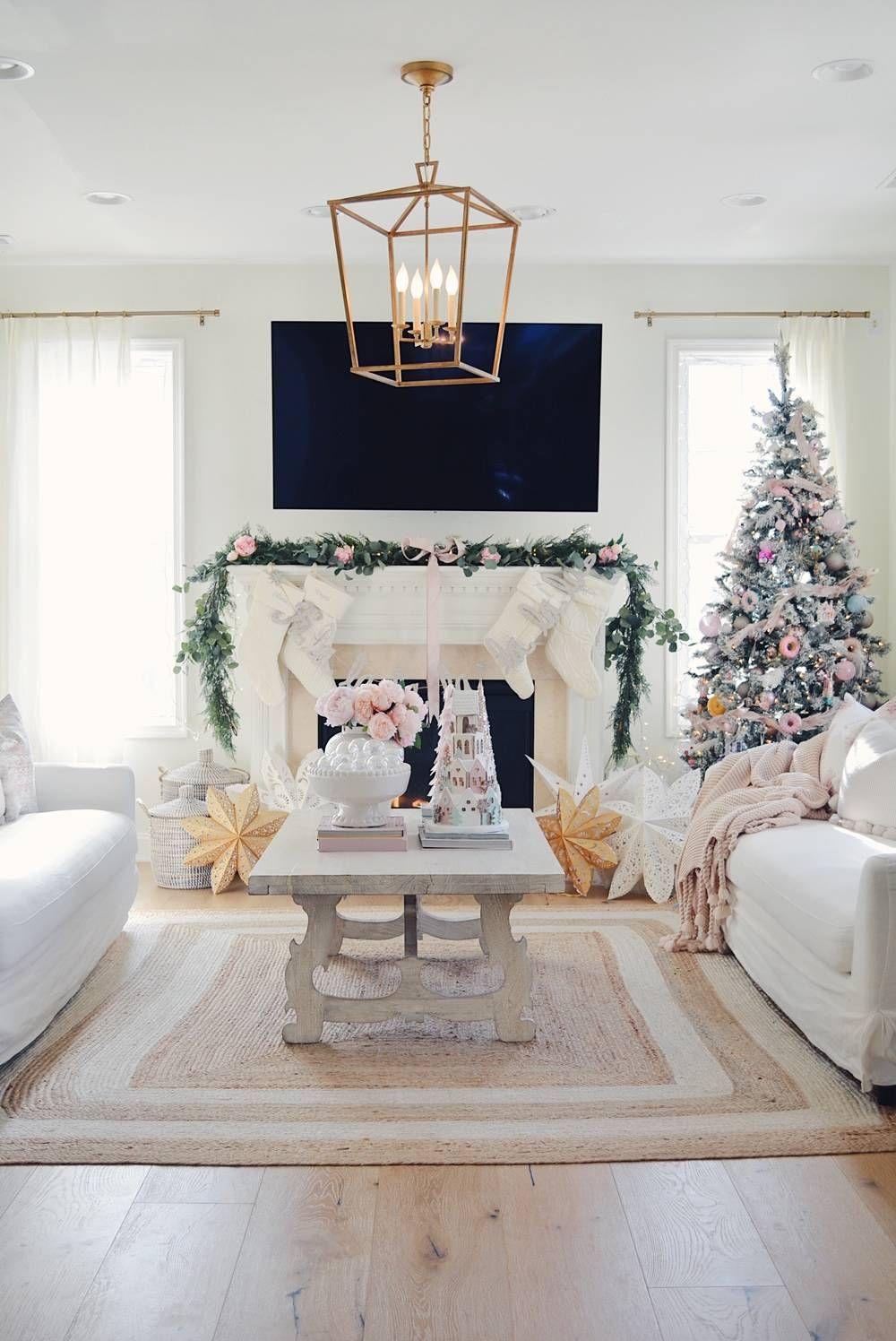 A Pink Christmas Wonderland Pink Christmas Tree Decorations Pink Christmas Decorations Christmas Wonderland