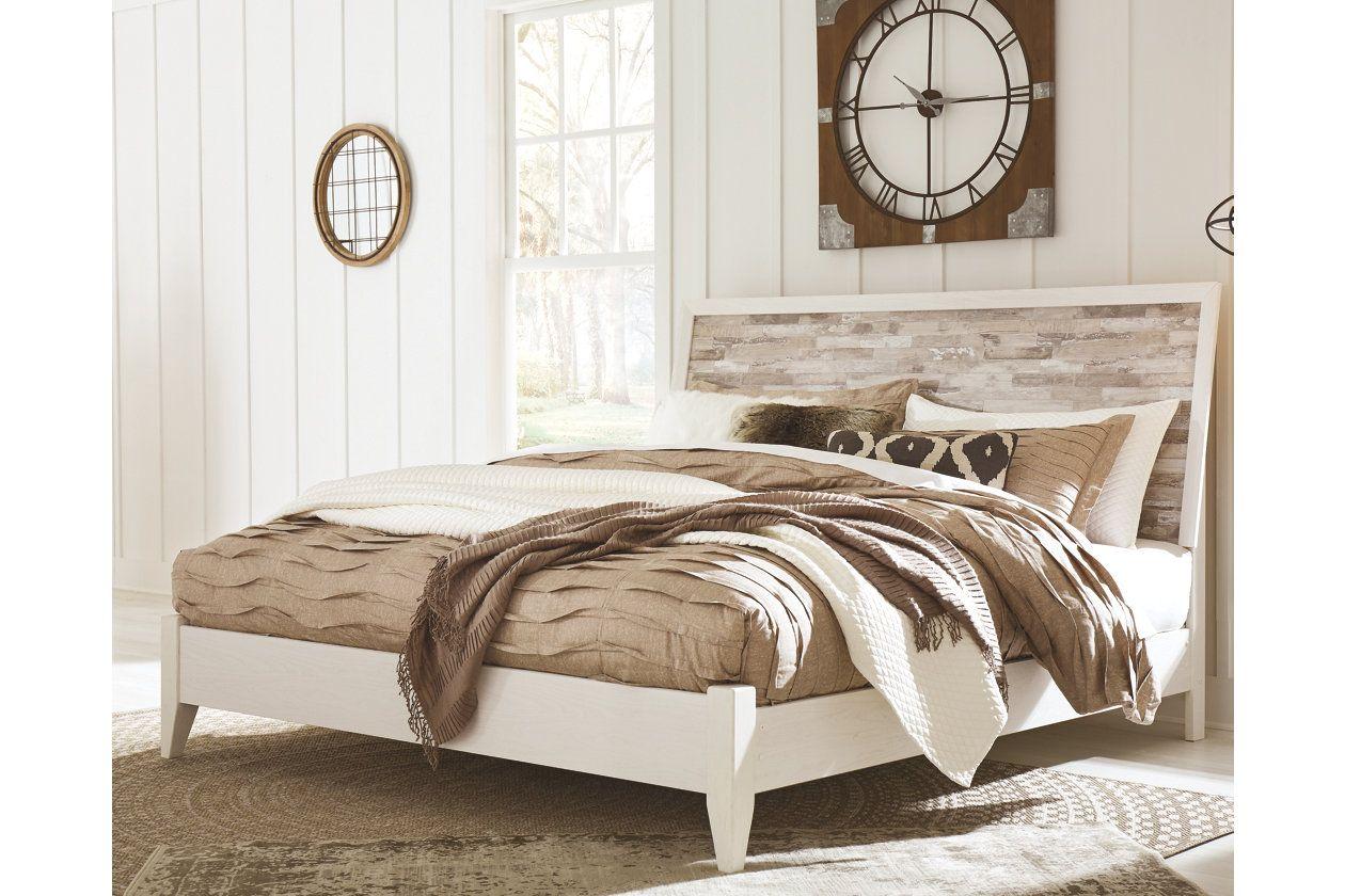 Miraculous Evanni Queen Panel Bed Ashley Furniture Homestore Condo Download Free Architecture Designs Pendunizatbritishbridgeorg