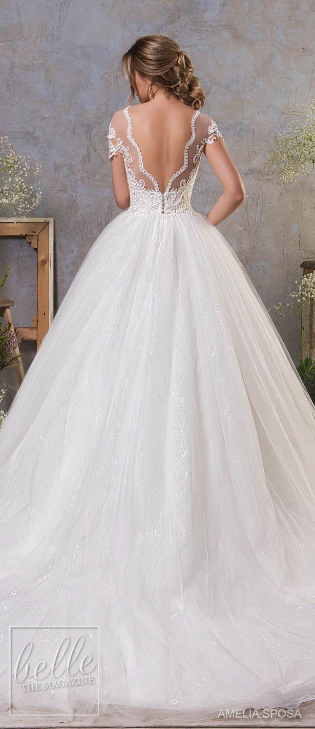 Amelia Sposa Fall 2018 Wedding Dresses Levné Svatební Šaty 226d29dba57