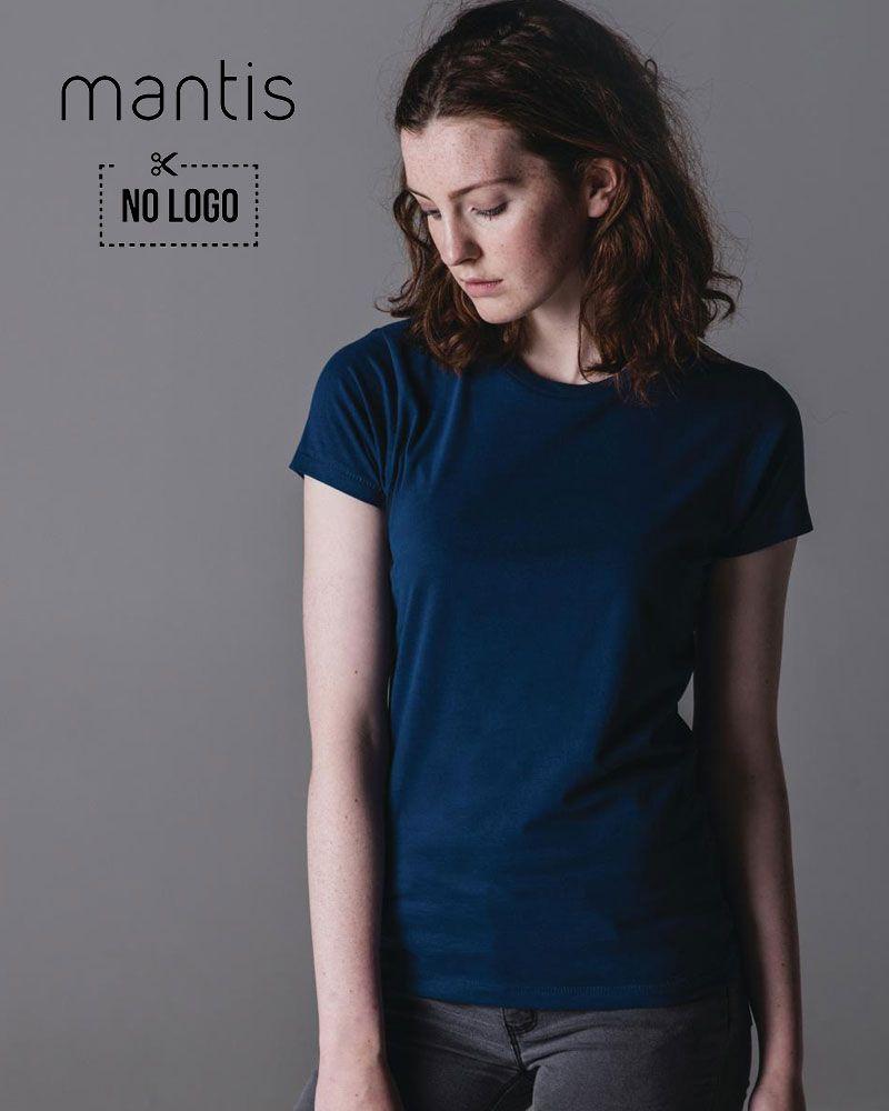 efdb516452 T-shirt-donna-manica-corta-Mantis-MAM69-navy | Abbigliamento Donna ...