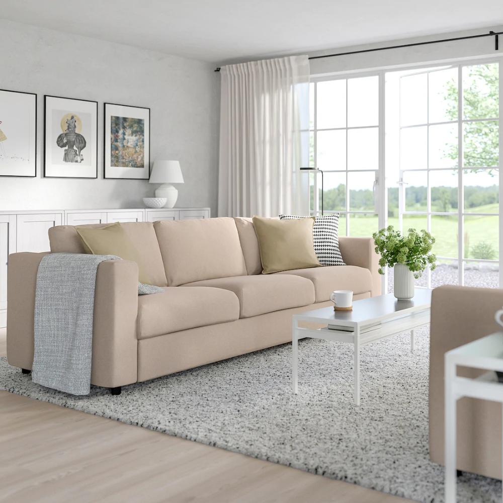 FINNALA Sofa Tallmyra beige IKEA in 2020 Cosy sofa