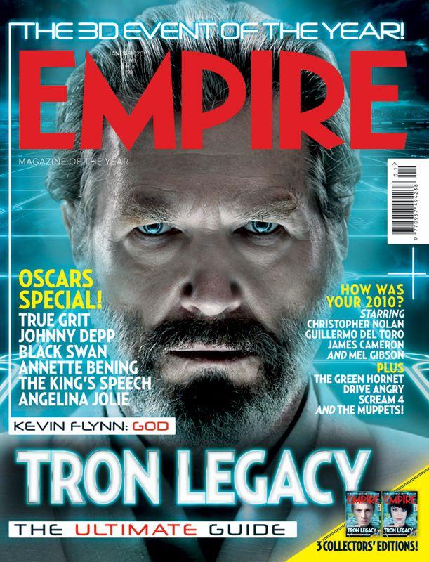 Tron Legacy - Empire Magazine Cover Jeff Bridges