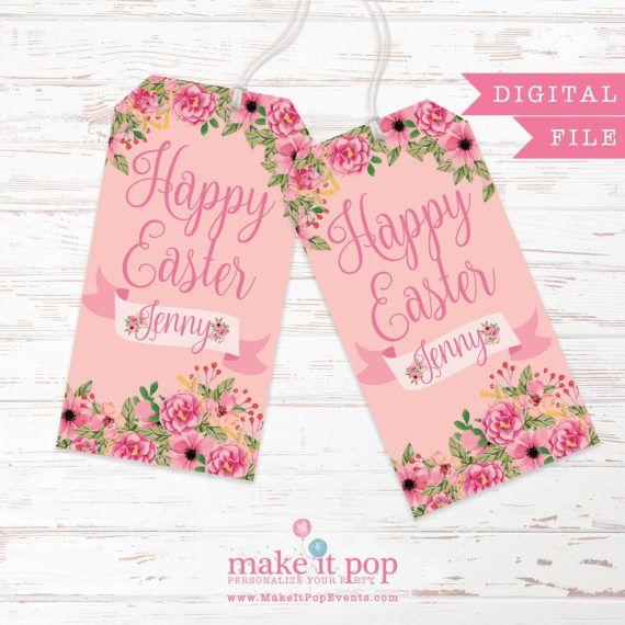 Easter gift bag tag digital spring gift bag tag by makeitpopevents easter gift bag tag digital spring gift bag tag by makeitpopevents negle Choice Image