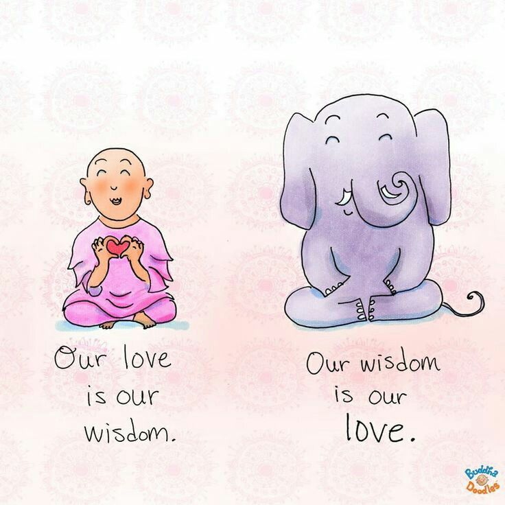 Our love is wisdom ♡ Our wisdom is love