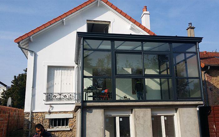 Extension de maison sur terrasse en hauteur   Coin cuisine   Choisy