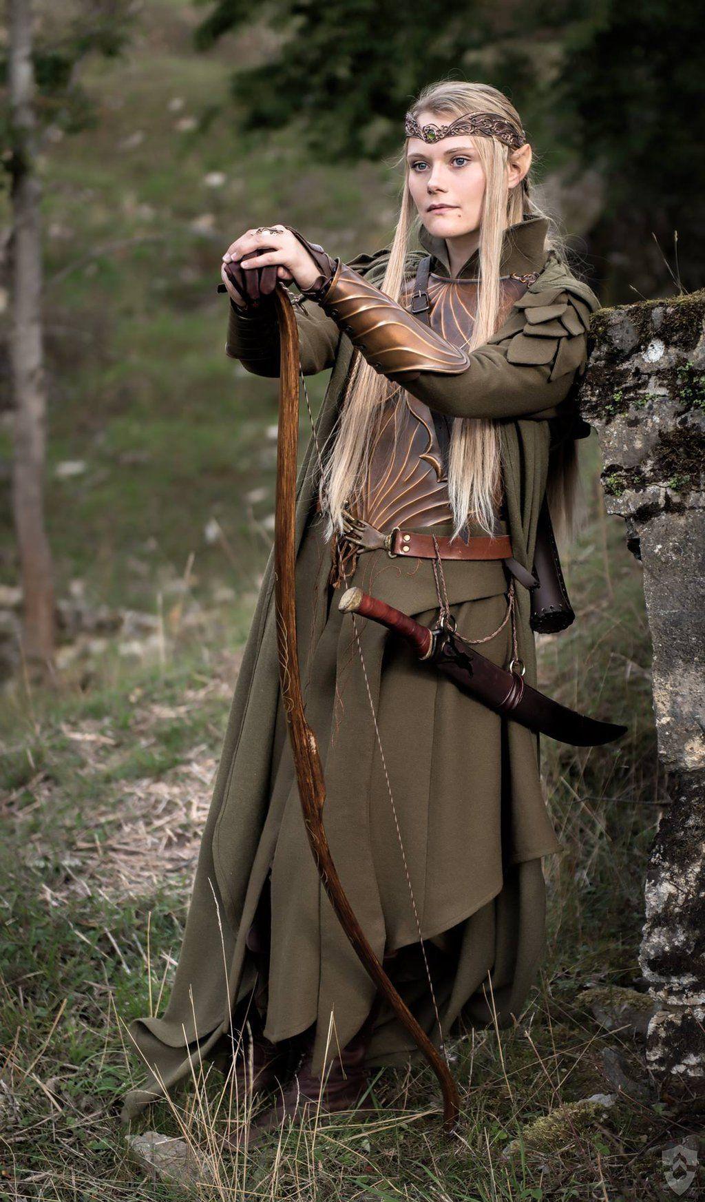 My Odin Roupas de caça, Elfos, Cosplays
