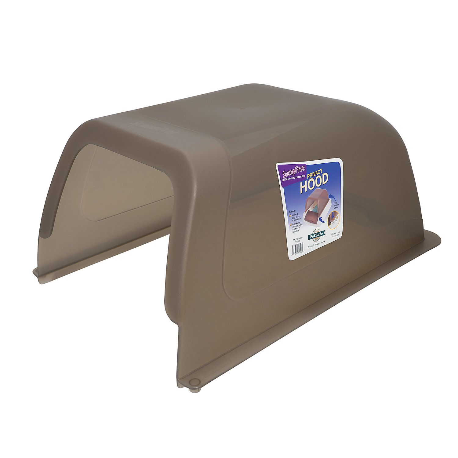 ScoopFree by PetSafe Privacy Hood Taupe Litter box