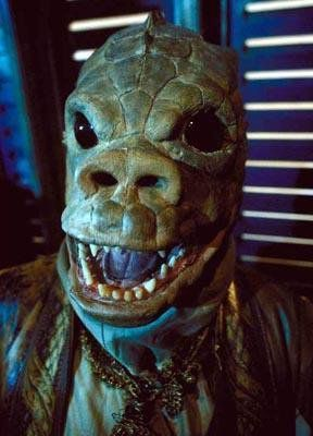 Jabba's skiff alien from Star Wars Return of the Jedi