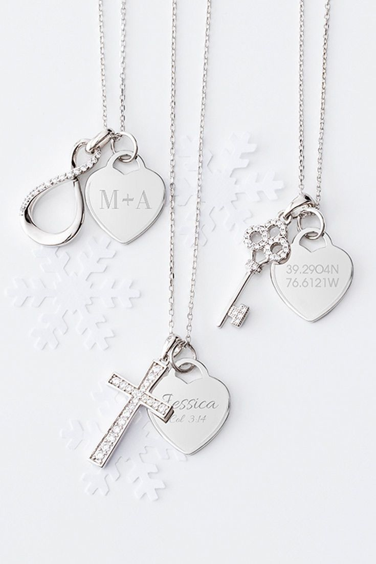 view necklaces jewelry set engraved sterling az geometric gp layered bling pendants personalized plated gold silver chains a pfs all necklace give engravable