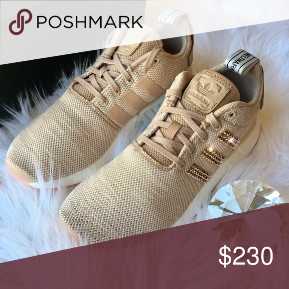 new styles 47276 dacb7 Bling Adidas NMD ROSE GOLD with Swarovski Crystals STUNNING ...