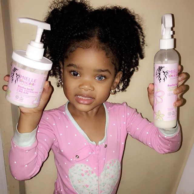 New Kids Product In Stores Near You For They Hair For Best Hair Results And All Natural Projec Toddler Curly Hair Black Baby Hairstyles Black Kids Hairstyles