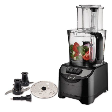 Amazon Com Oster Total Prep 10 Cup Food Processor With