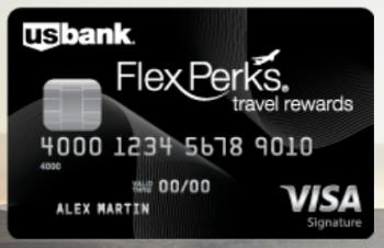 Us Bank Credit Card: U S  Bank Flex Perks Visa Signature