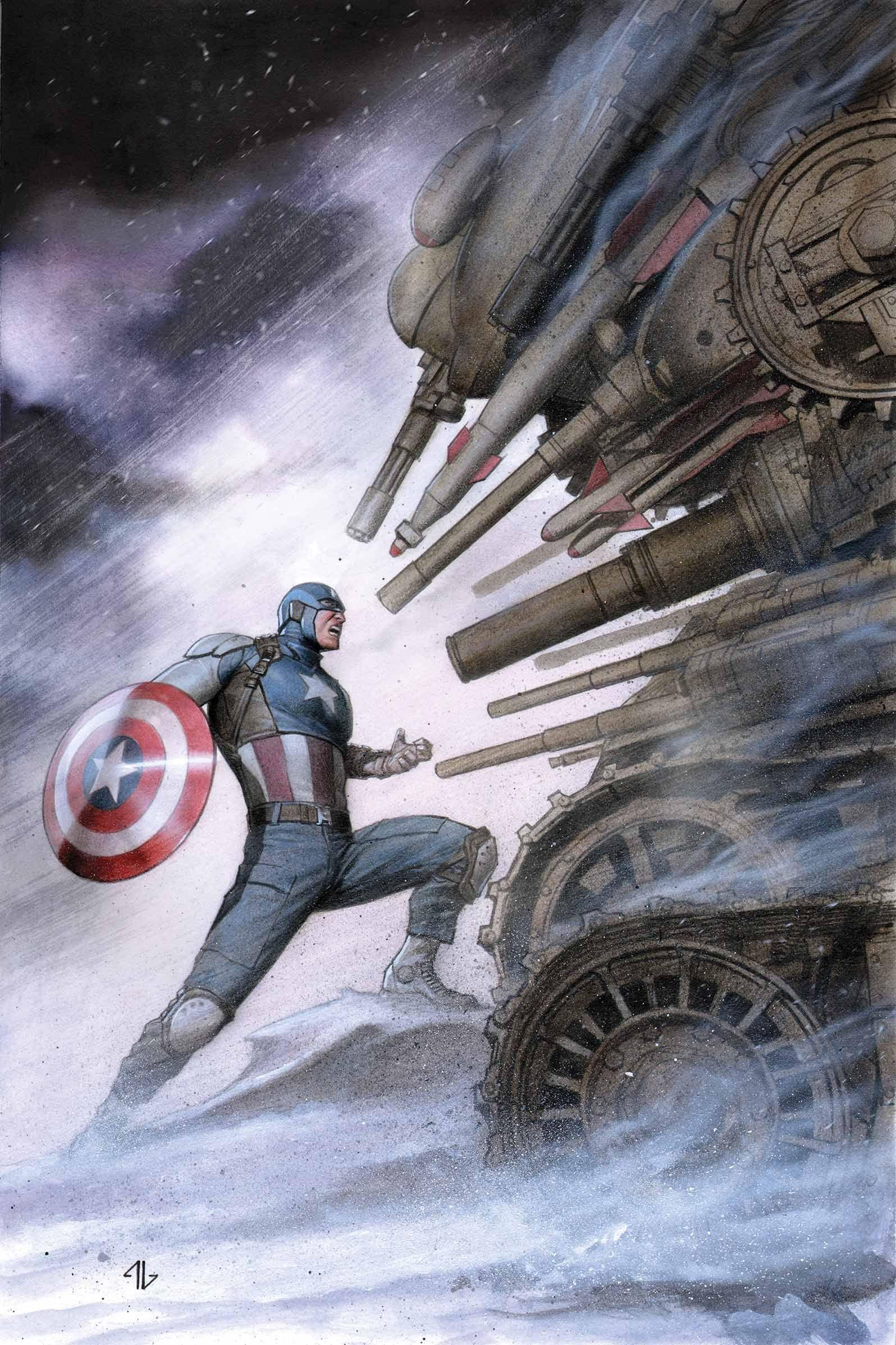 Captain America Living Legend #3