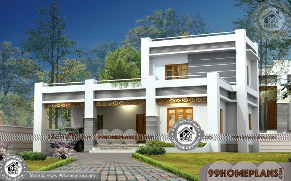 Simple Small House Plans Free  80+ Modern House Design 2 Storey 3