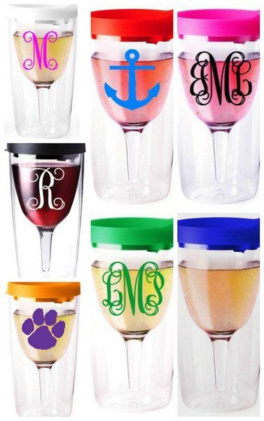 """You Design It"" Wine Tumblers 