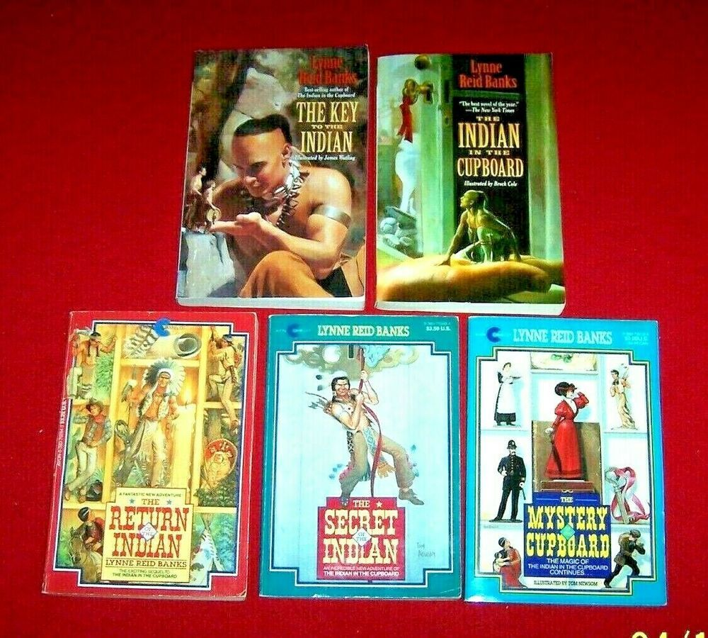 Indian In The Cupboard Complete Set 5 Ar Books Mystery Secret Key Return Banks Indian In The Cupboard Chapter Books Mystery