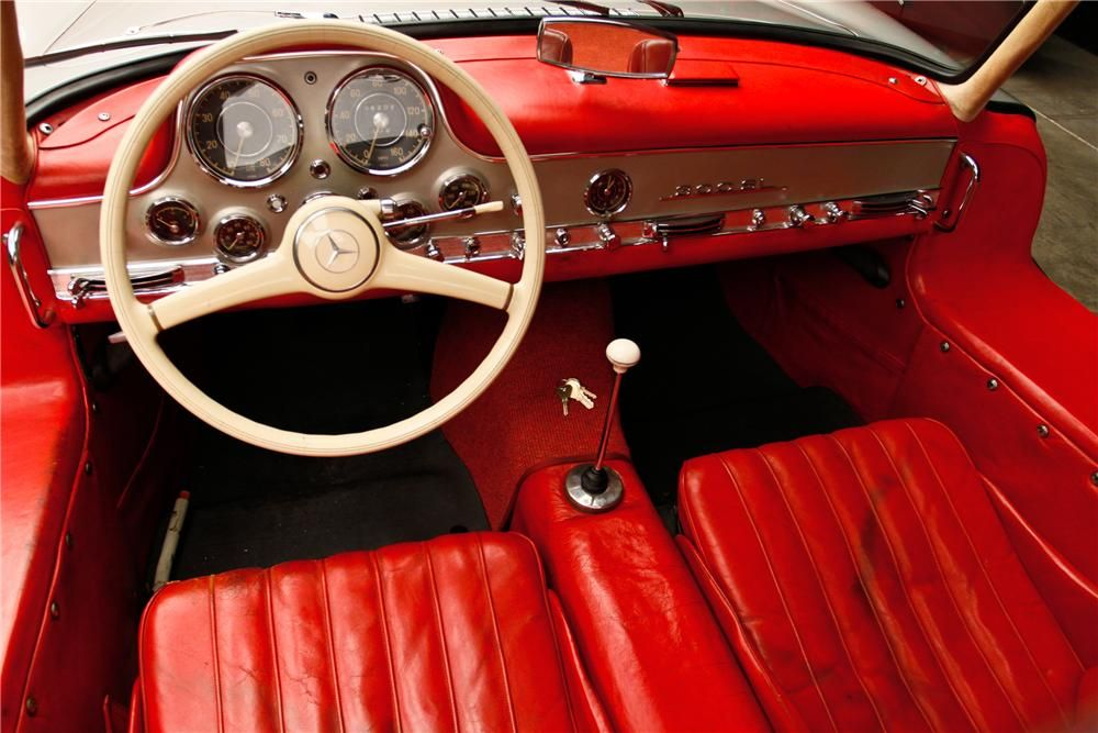 1954 Mercedes Benz 300sl Gullwing Interior 115978 With Images